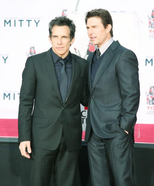 Ben Stiller and Tom Cruise.