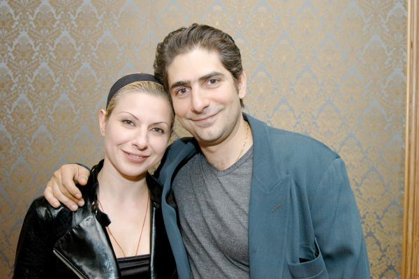 Victoria Imperioli and Michael Imperioli.