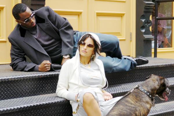 P. Diddy and Penélope Cruz.