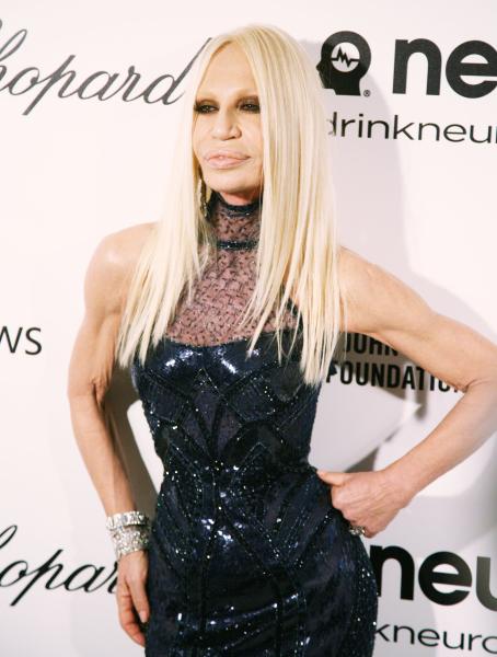 Donatella Versace.