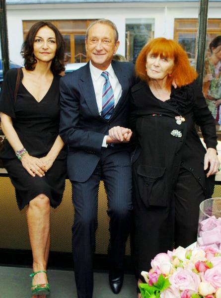 Nathalie Rykiel, Bertrand Delanoë and Sonia Rykiel.