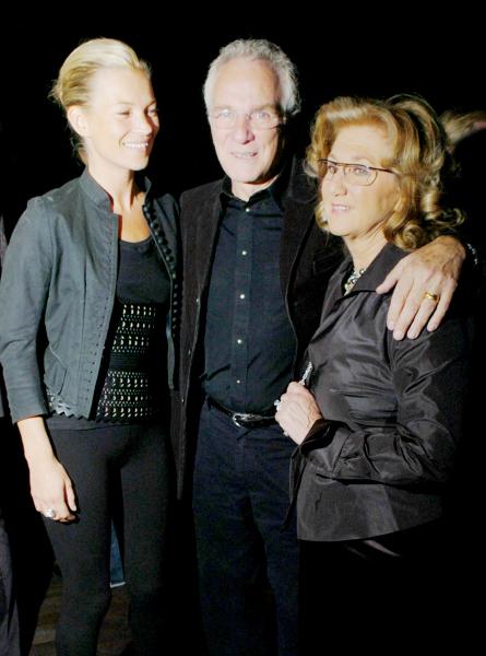 Kate Moss, David Yurman and Sybil Yurman