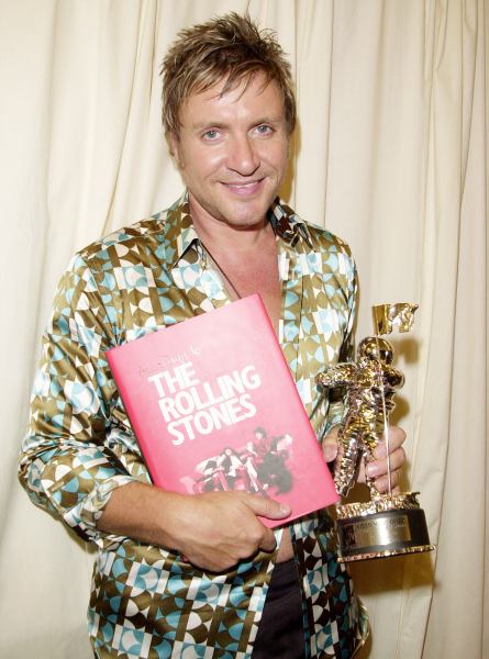 Exclusive photo: Simon Le Bon at MTV Video Music Awards Backstage.