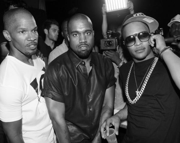 Jamie Foxx, Kanye West and T.I.