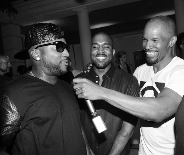 Young Jeezy, T.I. and Jamie Foxx.