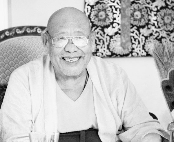 Lama Tsering Wangdu Rinpoche in Los Angeles.