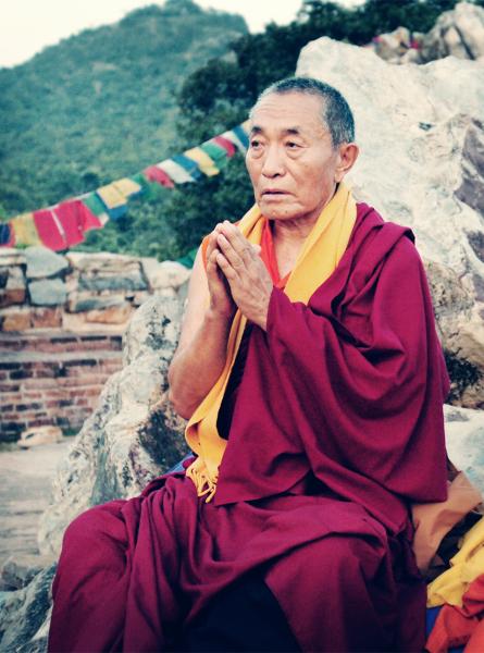 Venerable Khenchen Palden Sherab Rinpoche.