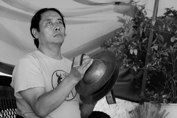 Lama Lhanang Rinpoche in Mexico.