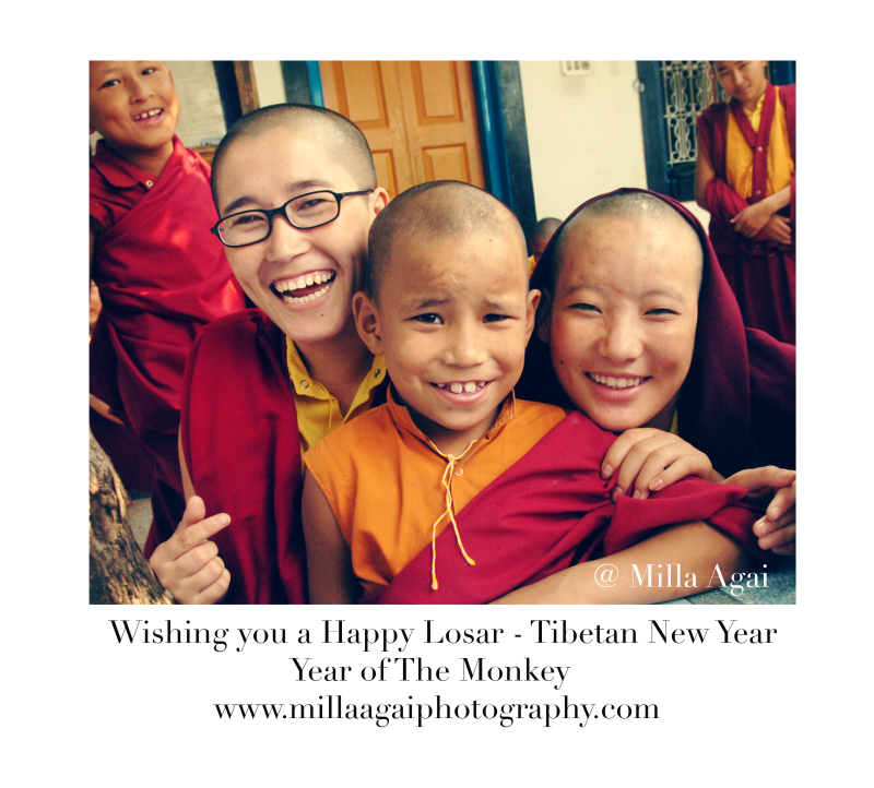 Happy Losar - Tibetan New Year - Year of the Monkey