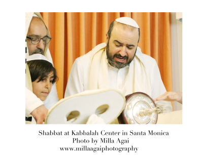 Shabbat at Kabbalah Center In Santa Monica