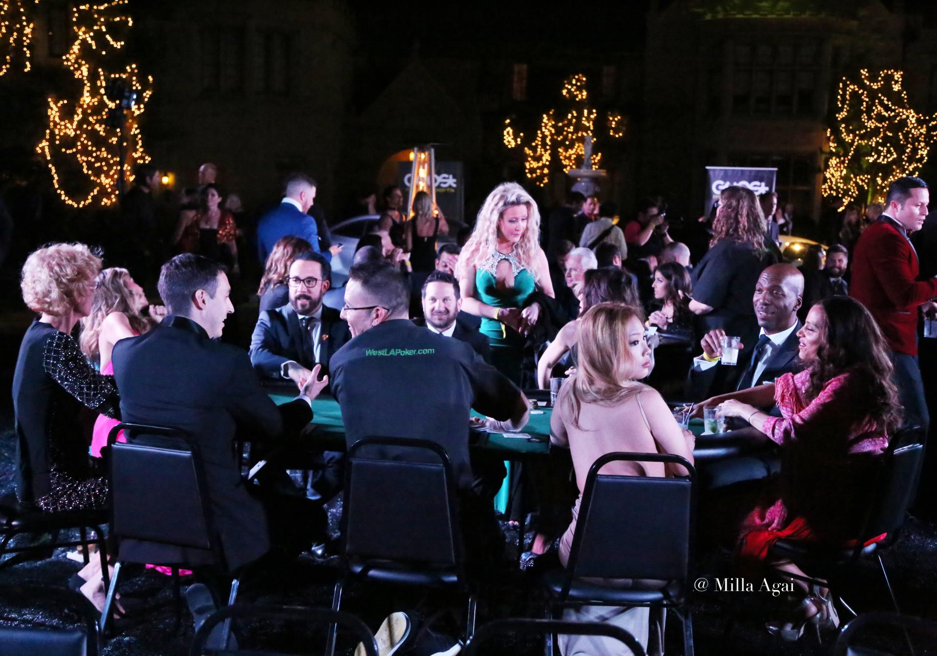 Grammys After Party - City Gala 2016 - Celebrity Poker Tournament - Playboy Mansion