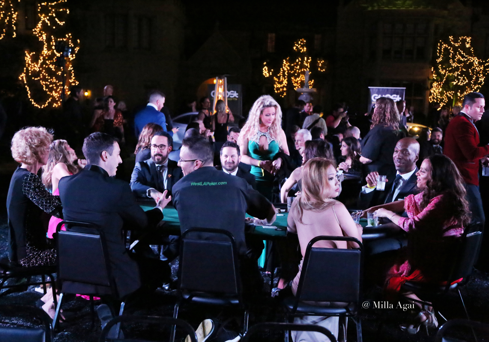 Grammys After Party - City Gala 2016 - Celebrity Poker Tournament - Playboy Mansion