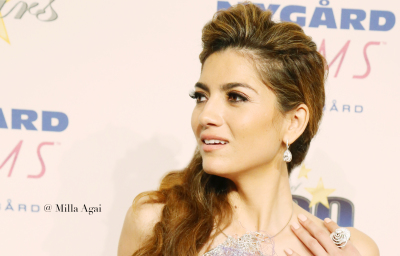 Actress Blanca Blanco at the Oscars After-Party at The Beverly Hilton.