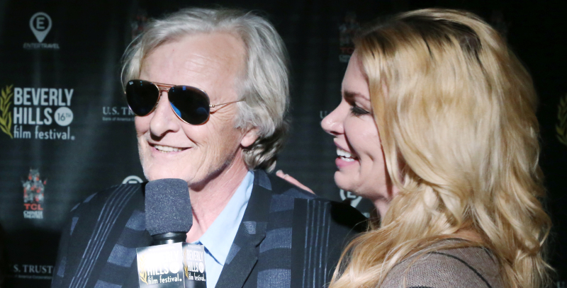 Rutger Hauer at the Beverly Hills Film Festival Opening Night Premiere Of The Lennon Report