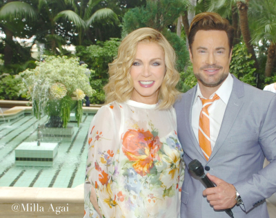 Donna Mills at the ABCs Annual Mother's Day Luncheon at The Four Seasons Hotel.