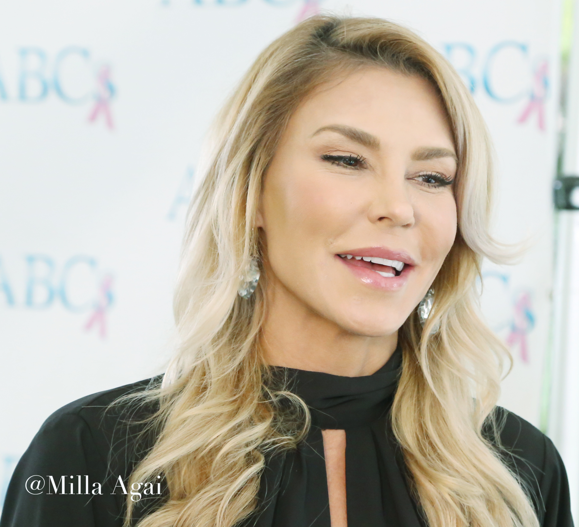 Brandi Glanville at The Four Seasons Hotel.