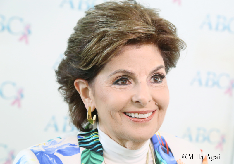 Gloria Allred at The Four Seasons Hotel.