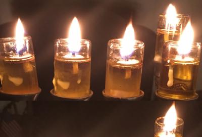 Happy Hanukkah from Milla Agai Photography