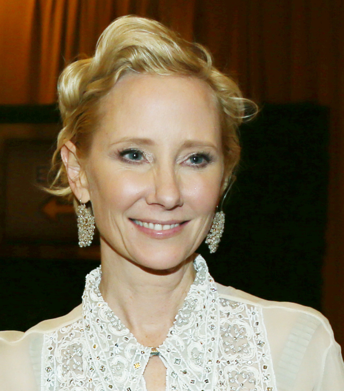 Anne Heche at the 2017 Golden Globes After Party