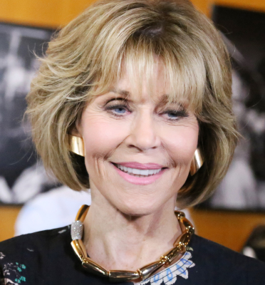 Jane Fonda at the Feminist Majority Foundation 30th Anniversary Celebration