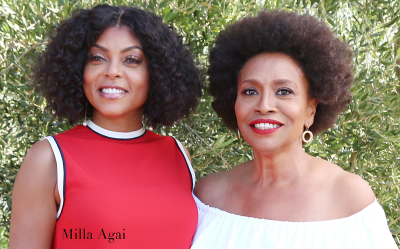Taraji P. Henson and Jenifer Lewis