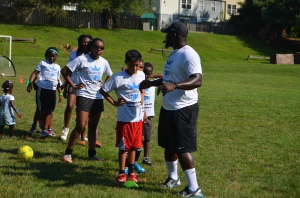 2016 Soccer Clinic Woodbridge, VA