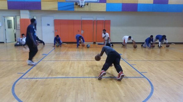 Basketball Clinic at DC Dept. of Youth Rehabilitation Center