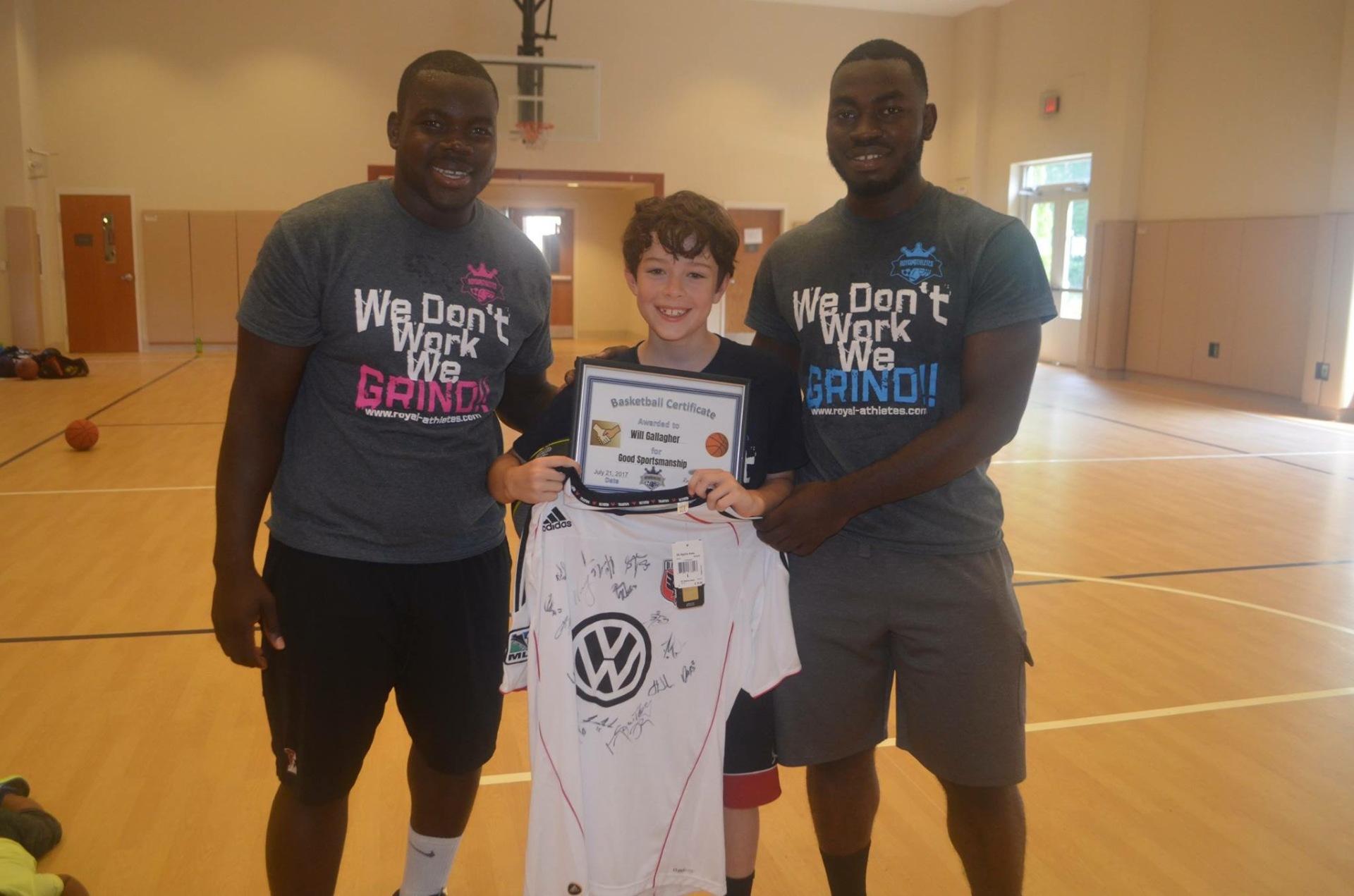 Basketball Clinic 2017 Fairfax, VA