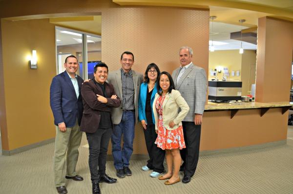 Assemblywoman Irene Bustamante Adams, Democrat Caucus Director Irma Fernandez, comstock Mines CEO Corrado De Gesperis and the CP team!