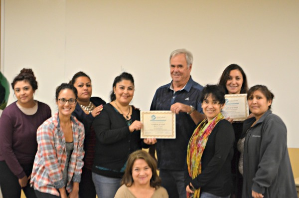 Cross Cultural  Services recognizes Capitol Partners for sponsoring the Medical Interpreter Training Program