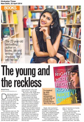 The Young and the Reckless — Hindustan Times