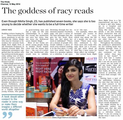 The Goddess of Racy Reads — The Hindu