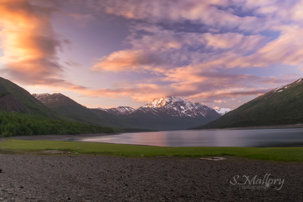 Eklutna Lake Sunrise