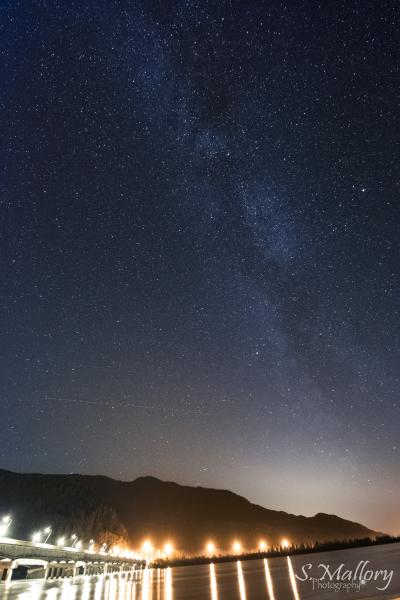 Knik River Milky Way