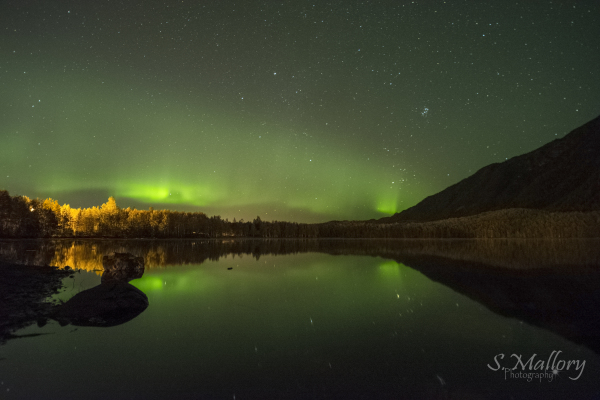 Mirror Lake Aurora