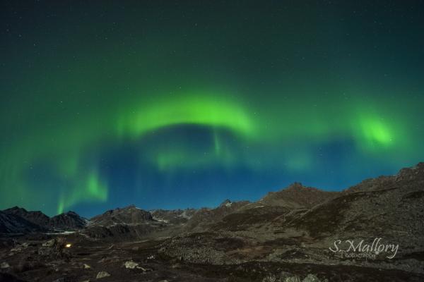 Hatcher Pass Aurora