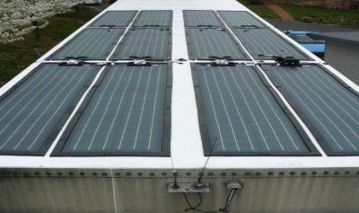 Solar on refrigerated vans