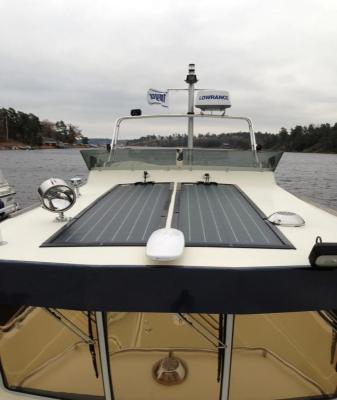 Solar on yacht