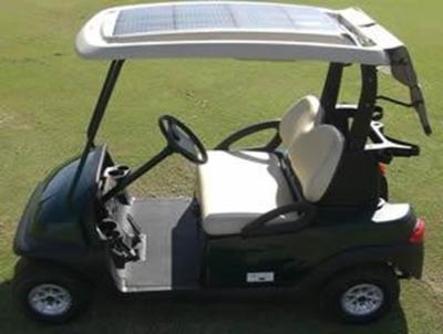 Solar on carts