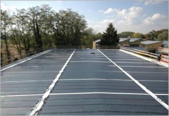 PVC surface roof