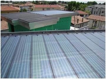 Bituminous surface roof