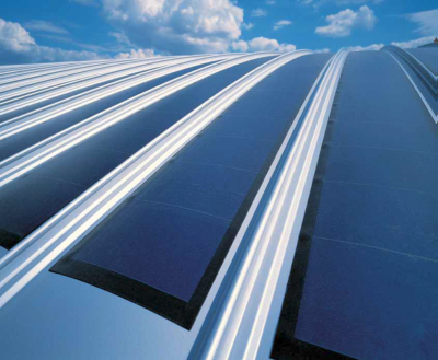Integrated in Metal roofs