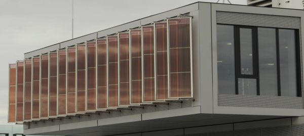 BIPV  with transperancies upto 50%
