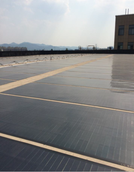 Flexible PV on Concrete roofs