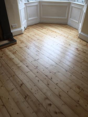 Floor sanding, varnishing and staining, Edinburgh, Victoriand Floor Restore