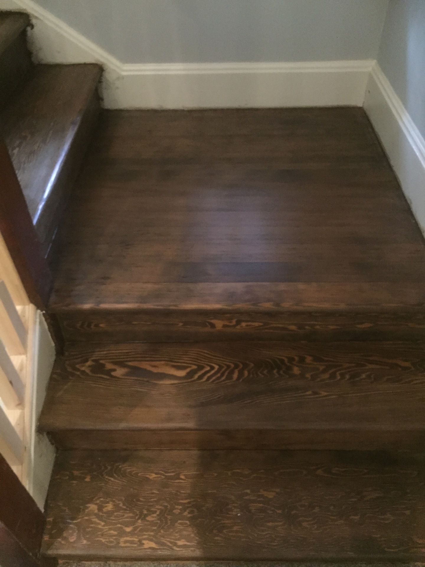 Wooden staircase restoration, Edinburgh, Victoriand Floor Restore