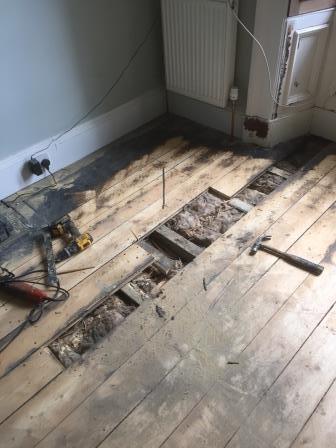 Floor sanding and repairs, Victorian Floor Restore Edinburgh