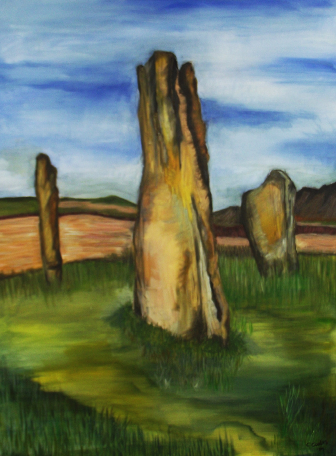 Machrie Moor Stone Circle, Isle of Arran