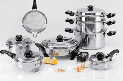 Saladmaster Chef Set