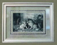 Innerwood Gallery, handkerchief, suede mat